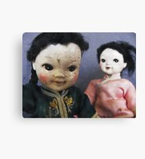 Dolls ll Canvas Print