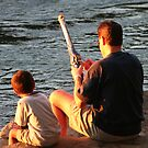 Gone Fishing With Dad by Terri~Lynn Bealle