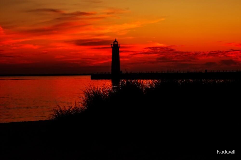 Lake Michigan Summer Night by Kadwell