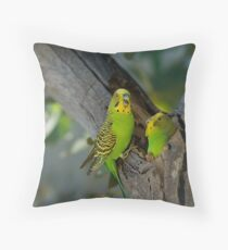 Tending The Young Throw Pillow