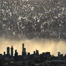 A Rainy Day in Melbourne by Roz McQuillan