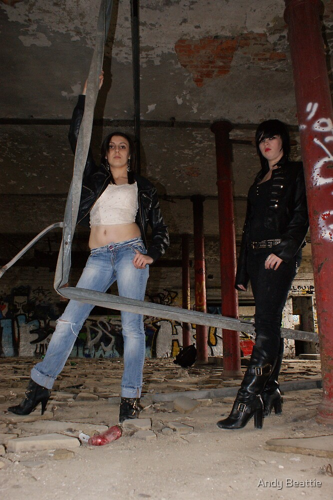 PhotoShoot in the old mill #021 by Andy Beattie