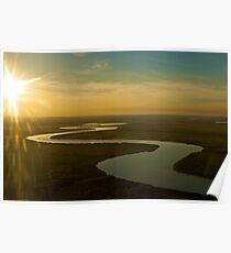 South Alligator River     Kakadu Poster