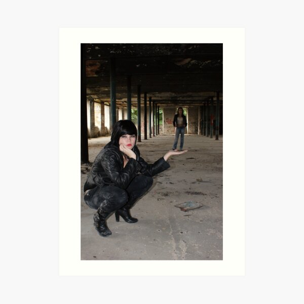 PhotoShoot in the old mill #037 Art Print