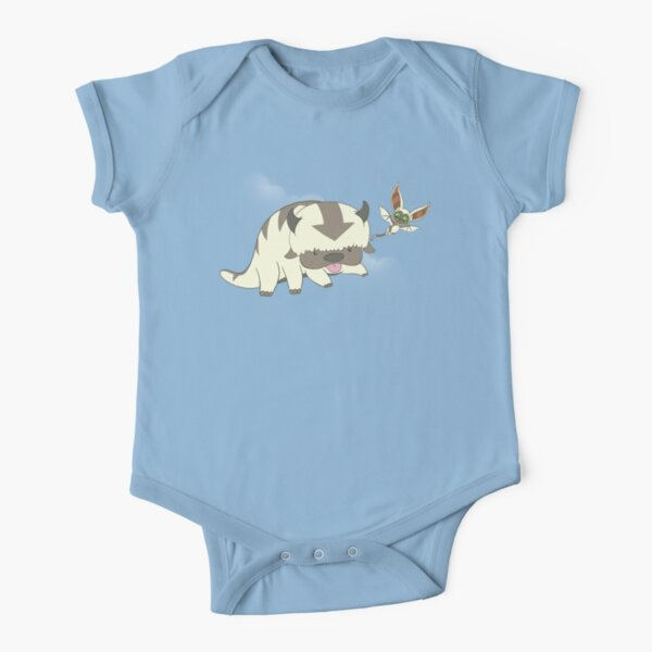 Flying Buddies Short Sleeve Baby One-Piece