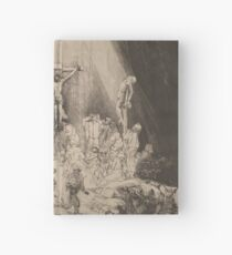 The Three Crosses - Rembrandt (1653) Hardcover Journal