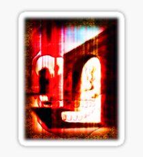 demonic doorway Sticker