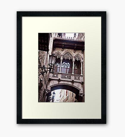 Barcelona 07 Framed Print