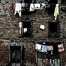 Washing. Chandeshwori, Banepa, Nepal by John Callaway