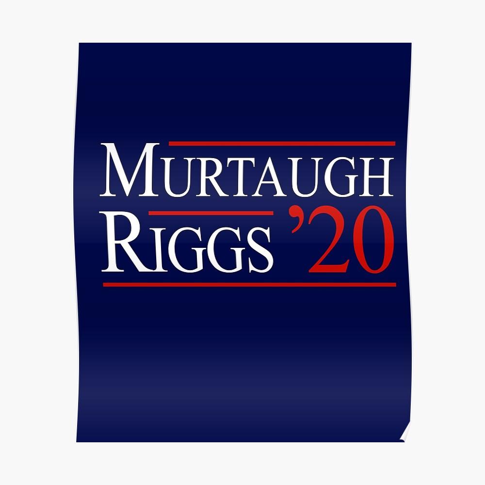 Murtaugh & Riggs 2020 Póster
