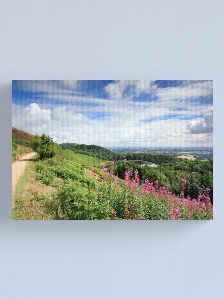 Alternate view of Malvern Hills : Glorious Summer Canvas Print