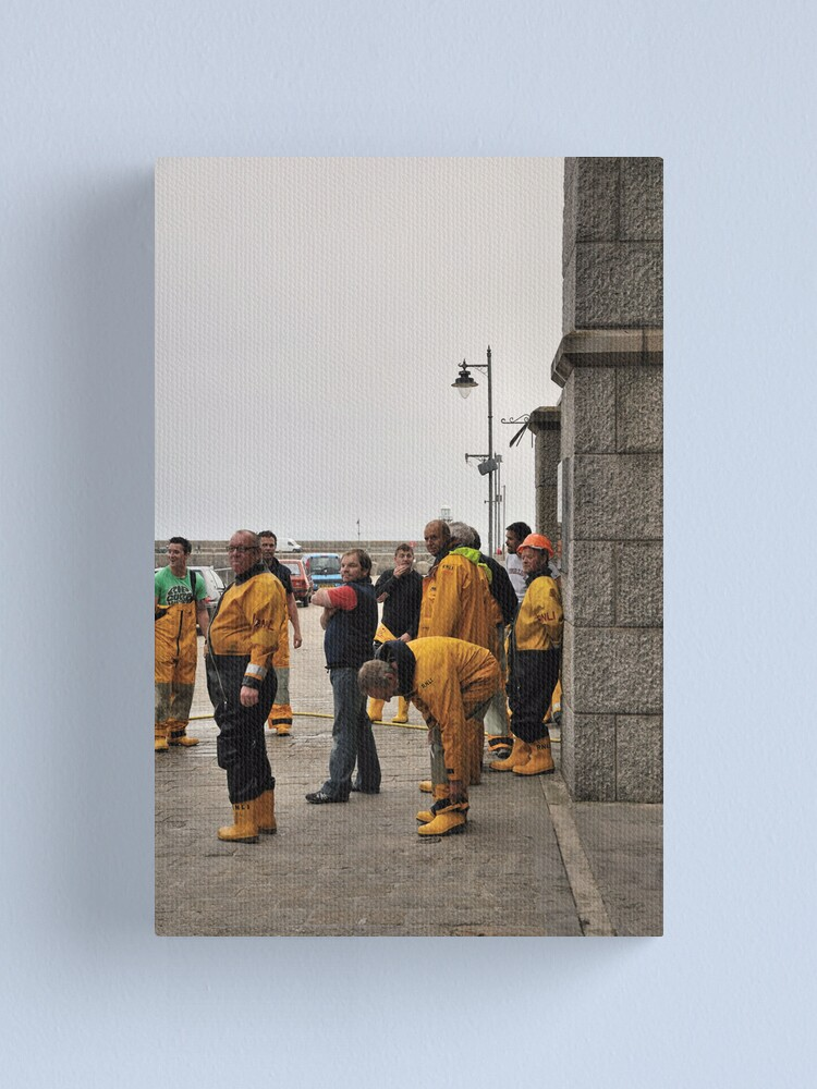 Alternate view of Lifeboat Crew Canvas Print
