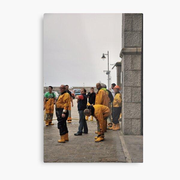 Lifeboat Crew Metal Print