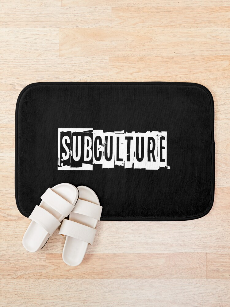 Alternate view of Sub Culture:  Apparel & Accessories Bath Mat