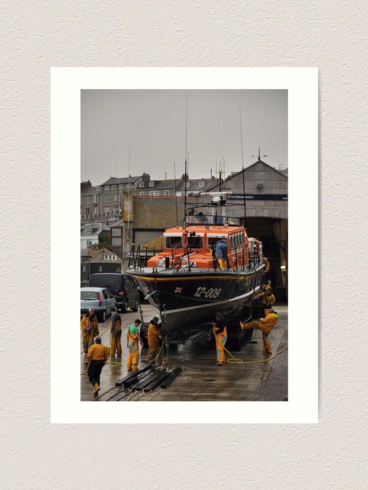 Alternate view of Lifeboat - Civil Service No. 41 Art Print