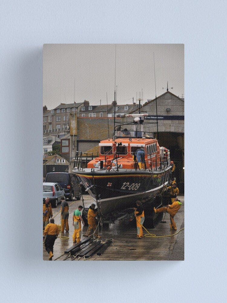 Alternate view of Lifeboat - Civil Service No. 41 Canvas Print