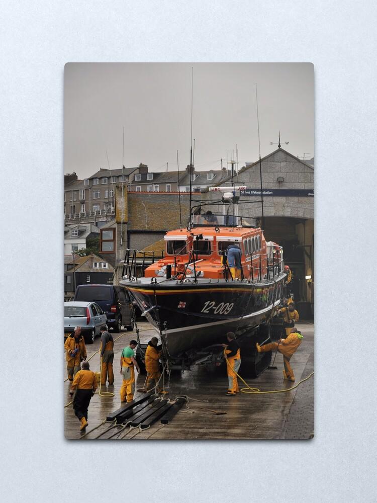 Alternate view of Lifeboat - Civil Service No. 41 Metal Print