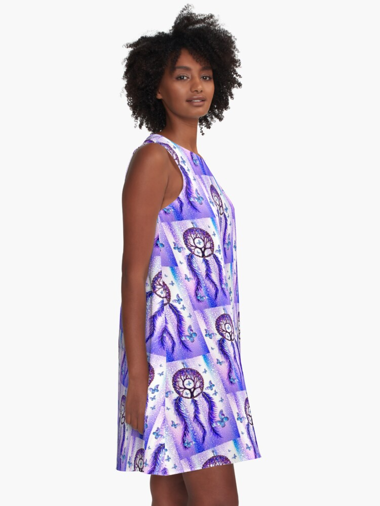 Alternate view of Butterfly Dreams A-Line Dress