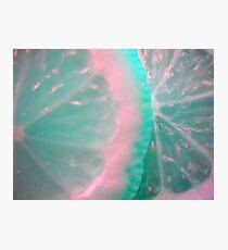 Colour Fruit. Macro. Photographic Print