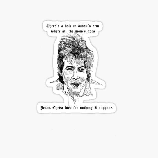 John Prine drawing Sticker