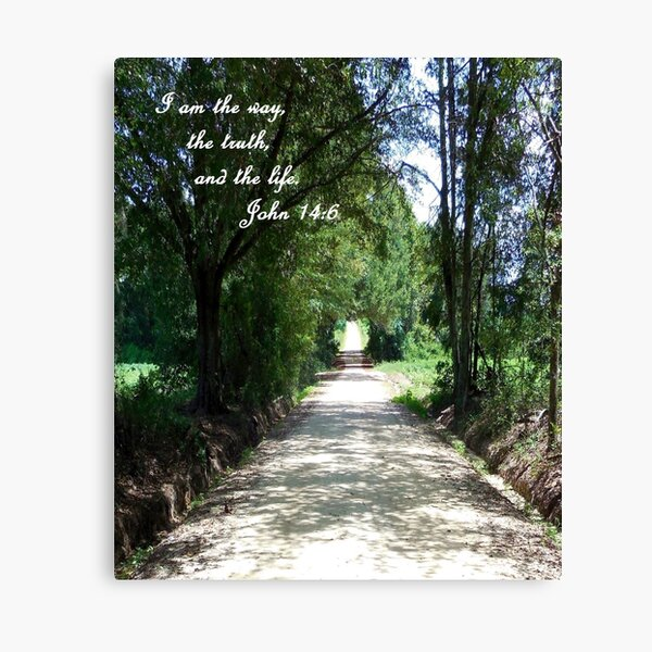 The Way, the Truth, and the Life Canvas Print