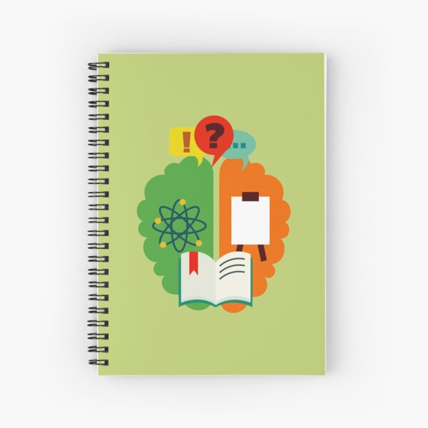 """TOAA Signature Line """"Science in Art""""-Classic Version Spiral Notebook"""
