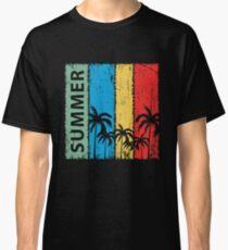 Summer Palms Classic T-Shirt