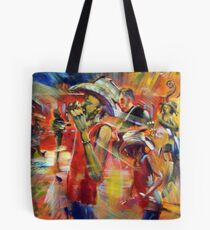 Hillbilly Goats live in the Green Room Tote Bag