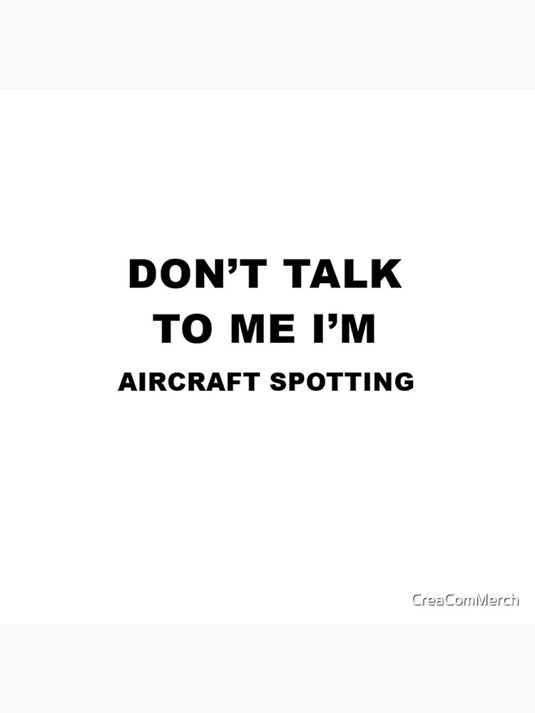 Aircraft Spotting Gift von CreaComMerch