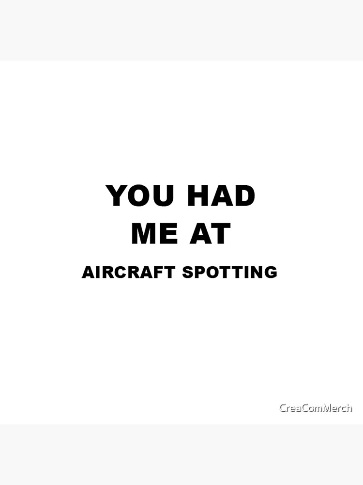 Aircraft Spotting Gift von CreaComMerch