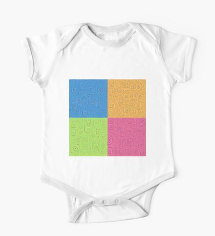 Deep Dreaming of a Color World 4K Saturation Kids Clothes