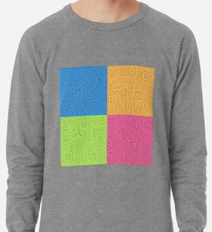Deep Dreaming of a Color World 4K Saturation Lightweight Sweatshirt