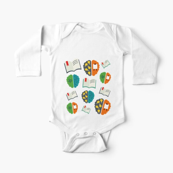 Mind Medley Long Sleeve Baby One-Piece