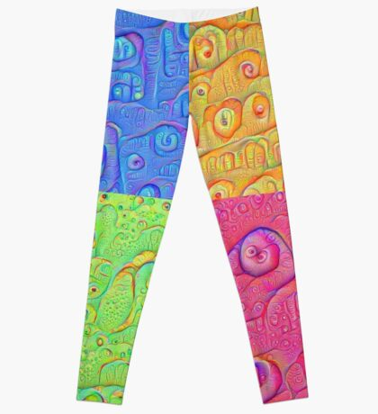 Deep Dreaming of a Color World 3K Leggings