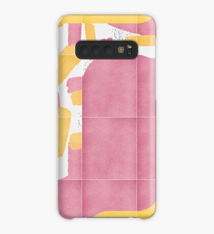 Bold Painted Tiles 02 #redbubble #midmod Case/Skin for Samsung Galaxy