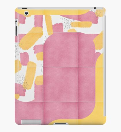 Bold Painted Tiles 02 #redbubble #midmod iPad Case/Skin
