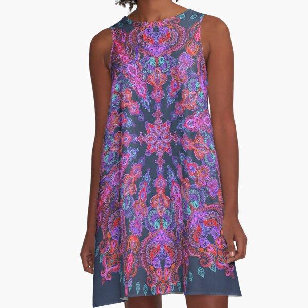 Bohemian A-Line Dress