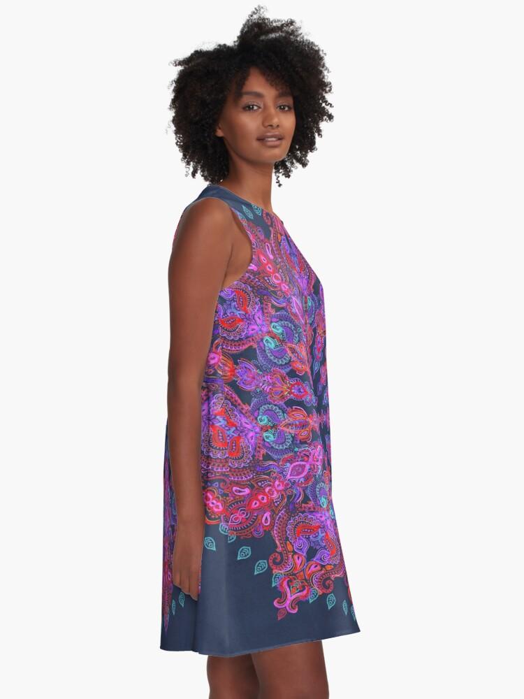 Alternate view of Bohemian A-Line Dress