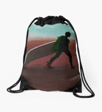 Dead Tired Drawstring Bag