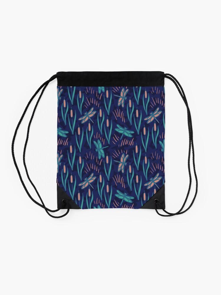 Alternate view of Dragonfly Drawstring Bag