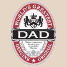 World's Greatest Dad by DetourShirts