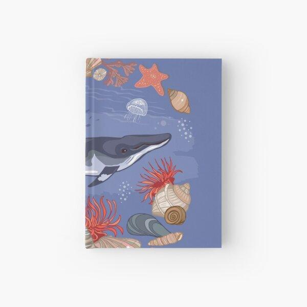 Minke Whale  Hardcover Journal