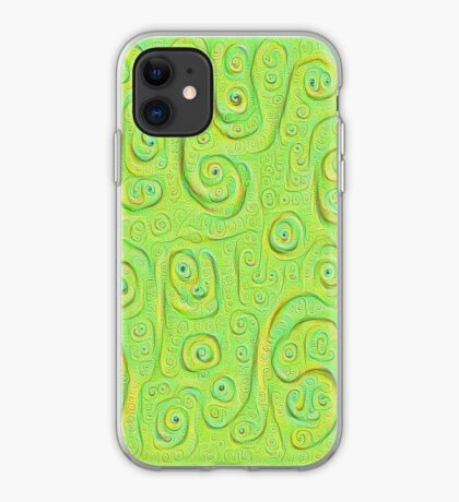 Deep Dreaming of a Green World 4K iPhone Case