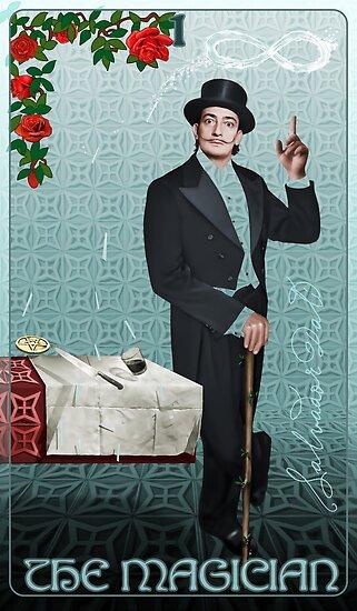 Tarot: The Magician (I) by Ivy Izzard