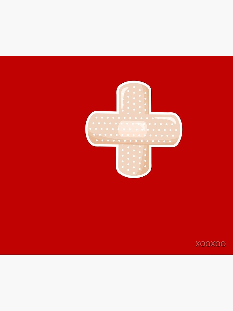First Aid Plaster by XOOXOO