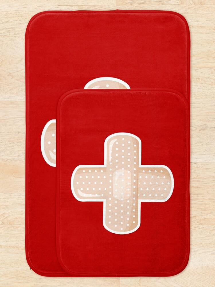 Alternate view of First Aid Plaster Bath Mat