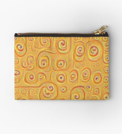 Deep Dreaming of a Yellow-Orange World 4K Studio Pouch