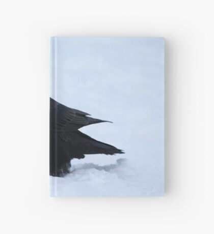 Winter Raven Hardcover Journal