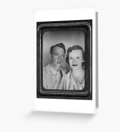 Sherl & Eleanor '56 Greeting Card