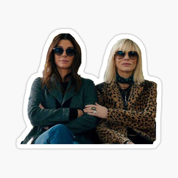 Lou Miller und Debbie Ocean Sticker